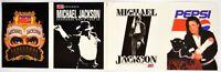 PEPSI Michael Jackson Dangerous World Tour 1992, 4x vinyl stickers in total
