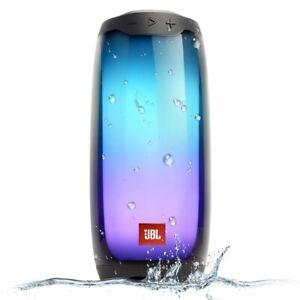 JBL Pulse 4 IPX7 Waterproof Bluetooth Speaker Brand NEW Sealed Black