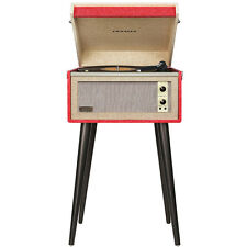 Crosley CR6233A-RE 3-Speed Dansette Bermuda Portable Turntable w/ Aux-In - Red