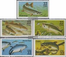 U.S. 1792-1796 (complete.issue.) unmounted mint / never hinged 1986 Fish