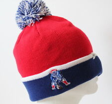 NFL New England Patriots Throwback Baraka Two Tone Cuff Knit Adult Beanie Hat