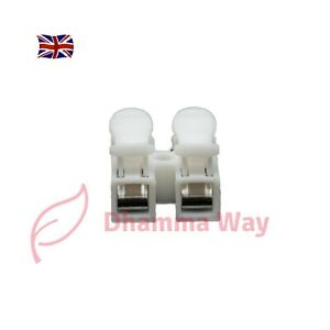 10 x Electrical Cable Connectors Quick Splice Lock Wire Terminals Self Locking