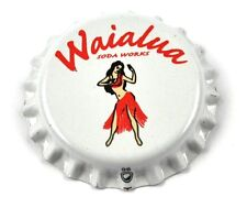 Waialua Soda Works Hawaii Bier Kronkorken USA Bottle Cap Plastikdichtung