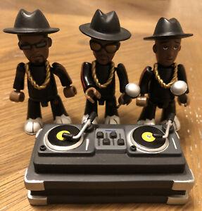Run DMC Mezco Mez-Itz Toy Figures 2002 Hip-Hop Group Rap NO BOX Jam Master J