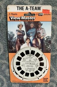 The A Team 3D View Master Reels - 1984 3 Reel Set NEW UNOPENED NICE