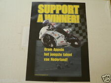 Y253 YAMAHA BROCHURE SUPPORT A WINNER BRAM APPELO 125 DUTCH 12 PAGES 2000 ? HOND
