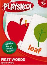 Flash Cards - Playskool -  First Words -