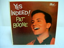 """PAT BOONE """"YES INDEED!"""" LP RECORD ALBUM."""