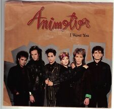 ANIMOTION  (I Want You)  Casablanca 884 729-7 + picture sleeve