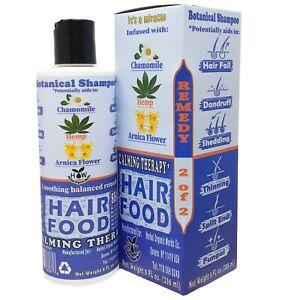 HAIR FOOD BOTANICAL SHAMPOO 8 oz. For All Hair Types, Hair Loss Control, Care