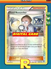 Fossil Researcher (FOIL) - for Pokemon TCG Online ( DIGITAL ptcgo in Game Card)
