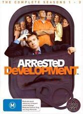 ARRESTED DEVELOPMENT SEASONS 1 2 3 : NEW DVD