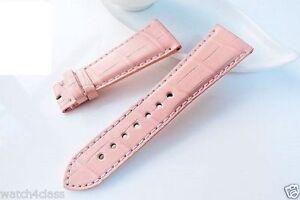 Genuine alligator skin Band Strap bracelet Cartier (fits) Tank Divan 24mm x 18mm