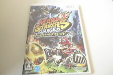 Wii Mario Strikers Charged RVL-R4QJ-JPN Nintendo Game Soft