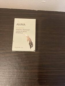 Ahava Deadsea Mud Mineral Mud Soap 30g For Body - Refreshes Skin New In Box 🌱