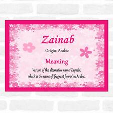 zainab name | eBay