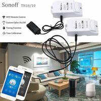 - app wlan temperatur, feuchte - wifi - fernbedienung smart switch sonoff th16
