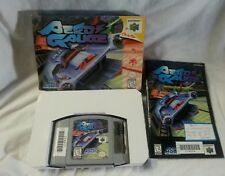 N64 AERO GAUGE Nintendo N64 Game Cartridge Box Instructions