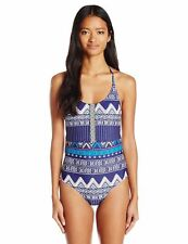 NWT Roxy Band It! One Piece Swimsuit XS