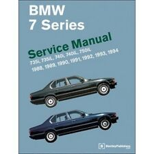 BMW 7 Series Service Manual 1988-1994 (E32)  book paper