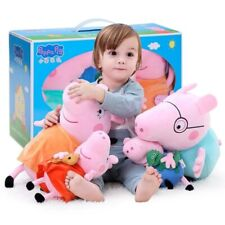 4Pcs/set Peppa Pig George Stuffed Plush Toy 19/30cm Peppa Pig Family Party Dolls