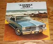 Original 1976 Dodge Dart Sales Brochure 76 Swinger Sedan Coupe Hardtop