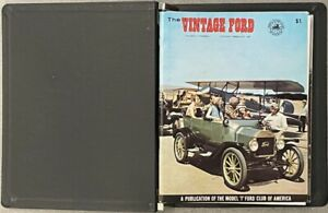 """""""The Vintage Ford"""" Magazine, Volume 2 Complete (6 issues) 1967 IN BINDER"""