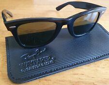 Vintage Ray-Ban Wayfarer Sunglasses Bausch & Lomb USA. Black B&L 5024
