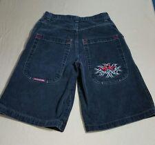 JNCO Jeans Shorts Black Vintage 90s Baggy Loose Streetwear Skater Long Mens 30