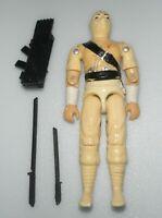 Lot 1984 GI Joe White Cobra Ninja Storm Shadow v1 Action Figure *No Broken Parts