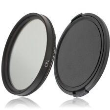 Polarizador 46mm filtro CPL filtro de polarización & objetivamente tapa para Camara objetiva