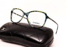 CHANEL 3336 1522 Eyeglasses Optical Frames Glasses ~ Green Blue Mosaic ~ 54mm
