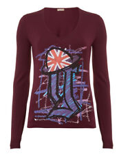 GALLIANO Long Sleeve Print Top BNWT