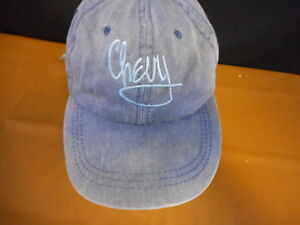 Chevy Chevrolet Adult Hat Baseball Cap Hat used adjustable strap