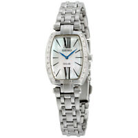Seiko Tressia Mother of Pearl Dial Stainless Steel Ladies Watch SUP283