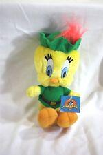 Loony Toones Tweety Bird Plush in Robin Hood Costume Green A30Rd15
