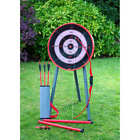 NEW BOW & ARROW FOR KIDS ARCHERY SET TARGET STAND INDOOR OUTDOOR TOYS GIFT GAME