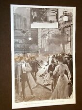 Roma 14 novembre 1906 Scoppio della bomba al Caffè Aragno