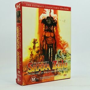 Shaka Zulu The Ultimate Collectors Set 5-Disc Box Set DVD GC