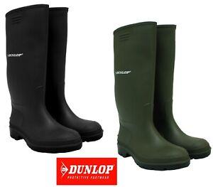 MENS WOMENS FESTIVAL DUNLOP WELLINGTON BOOTS WELLIES RAIN SNOW WATERPROOF UK3-13