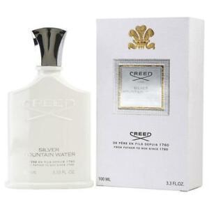 Creed SILVER MOUNTAIN WATER Eau De Parfum Spray 3.3 oz / 100 ml Brand New Boxed!