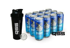 MUSCLE MOUSSE MOOSE JUICE (12x500ml) ENERGY DRINK WITH NO SUGAR LOADED WITH BCAA