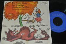 BRÜDER GRIMM Der Froschkönig & Der Wolf und die... / DDR SP 1972 LITERA 560041