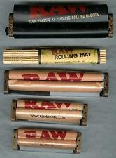 FIVE asst. RAW HEMP PLASTIC ROLLING MACHINES 70mm 79mm 110mm,Adjustable and MAT
