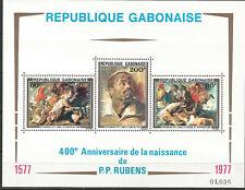 Gabon Scott #C201a MNH Painting Rubens 1977