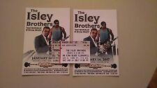 2017 Isley Brothers Ticket Stub & Show Bill to January 14 concert at BB Kings