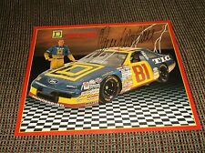 AUTOGRAPHED CARD #81 Kenny Wallace Square D AUTOGRAPH photo card
