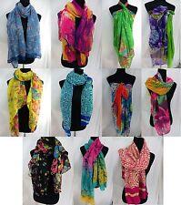 US SELLER-$3.25/p wholesale lot 12 trendy maxi long fashion scarves sarong wrap