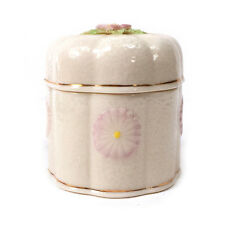 Vintage BELLEEK Collector Society Limited Ed. 1981 Lidded Box 3.25""