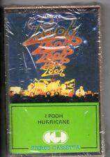 POOH musicassetta originale STAMPA ITALIANA  Hurricane NUOVA SIGILLATA